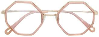 Chloé (クロエ) - Chloé Eyewear octagonal frame glasses