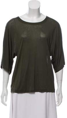 J Brand Short Sleeve Scoop Neck Top w/ Tags