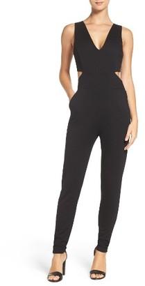 Women's Faiche By J Cutout Jumpsuit $99 thestylecure.com