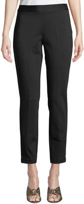 Donna Karan Skinny Side-Zip Ankle Pants