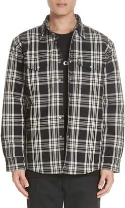 Noon Goons LBC Plaid Flannel Shirt Jacket