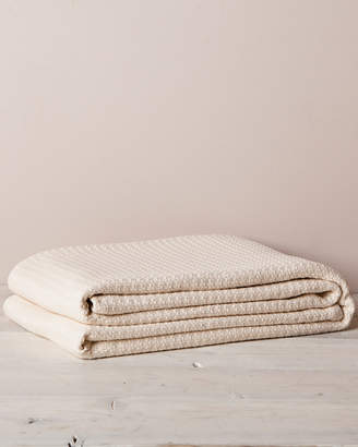 Elite Ivory Cotton Thermal Blanket