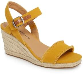 Lucky Brand Marceline Squared Toe Wedge Sandal