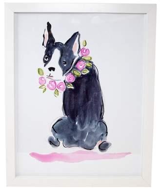 Boston Warehouse Don't Hate Me Because I'm Beautiful Boston Terrier Wall Art
