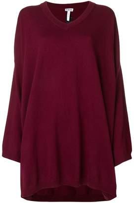 Loewe flared long-sleeve sweater