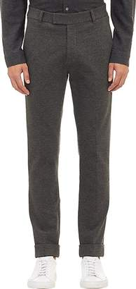 ATM Anthony Thomas Melillo Men's Compact Knit Jersey Cuffed Trousers - Charcoal