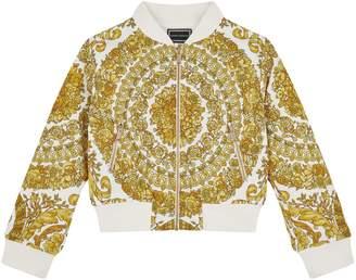 Versace Baroque Bomber Jacket