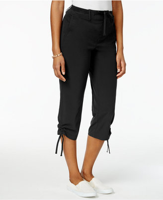 Style & Co Ruched-Leg Capri Pants, Created for Macy's $49.50 thestylecure.com