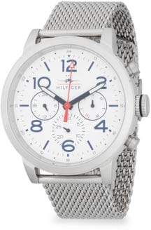 Tommy Hilfiger Stainless Steel Mesh Bracelet Watch