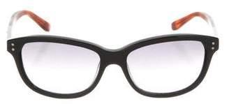 Chloé Bicolor Logo Sunglasses