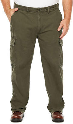 THE FOUNDRY SUPPLY CO. The Foundry Big & Tall Supply Co. Mens Mid Rise Cargo Pant - Big and Tall