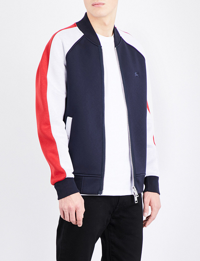 Burberry Panelled bomber jacket
