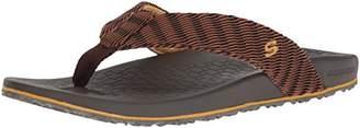 Skechers Men's Relaxed Fit-Velmen-Erever Flip-Flop