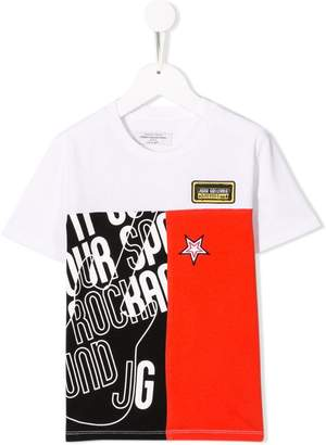 John Galliano logo patch T-shirt