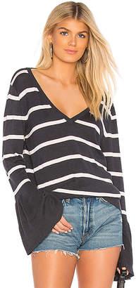 Chaser Peplum Sleeve Sweater