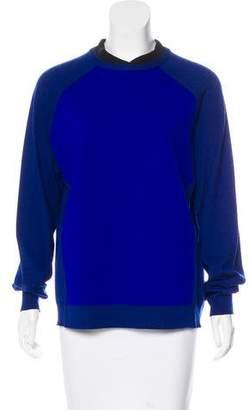 Marni Virgin Wool Paneled Sweater