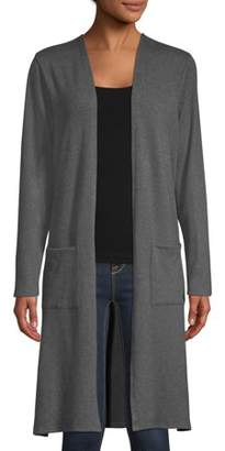 Concepts Women's Long Sleeve Duster Cardigan with Pockets