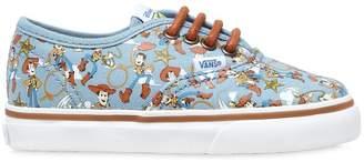 Vans Woody Printed Cotton Canvas Sneakers