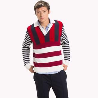Tommy Hilfiger Stripe Rugby Sweater