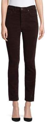 Citizens of Humanity Olivia Corduroy High Rise Slim Ankle Jeans