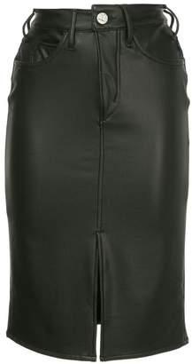 Mcguire Denim high-rise pencil skirt