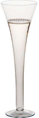 Abigails Optic Champagne Flute Glass