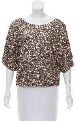 Vince Oversize Sequin Top