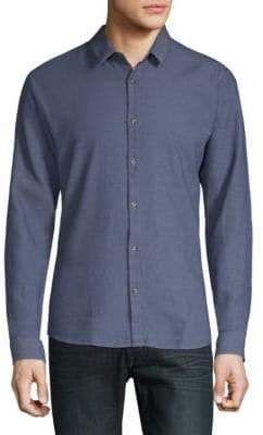 HUGO BOSS Ero3 Cotton Button-Down Shirt