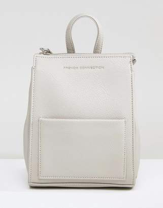 French Connection Mini Backpack in Gray $60 thestylecure.com
