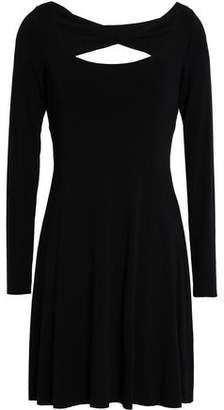 Bailey 44 Cutout Stretch-modal Jersey Mini Dress