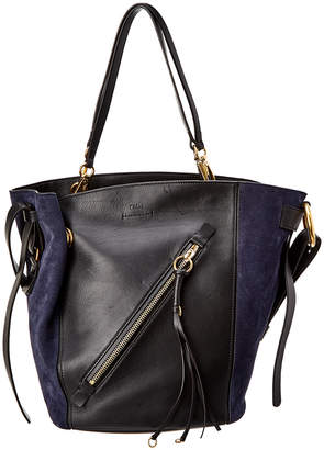 Chloé Myer Medium Leather & Suede Tote