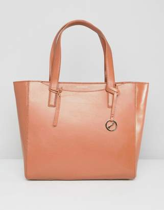 Paul Costelloe real leather structured tote
