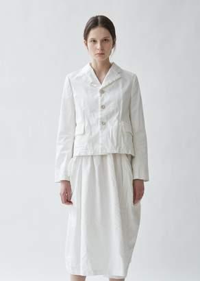 Comme des Garcons Cotton Satin & Lace Jacket