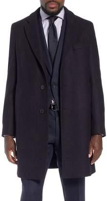 BOSS x Nordstrom Nye Wool Blend Top Coat
