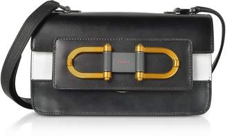 Furla Onyx Leather Bellaria Mini Crossbody Bag