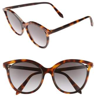 Victoria Beckham Cutaway Kitten 54mm Cat Eye Sunglasses