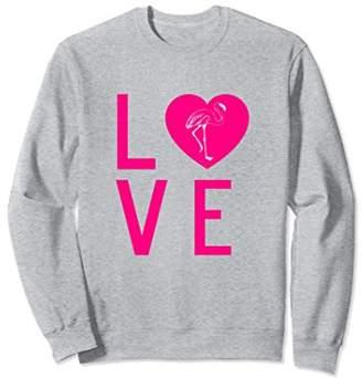 Love Pineapple Letters Print Fruit Lover Sweatshirt