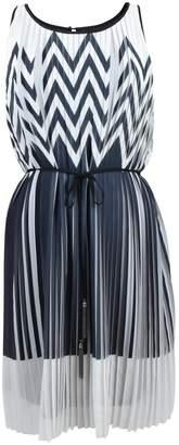 Anna Scott Knife Pleated Dress