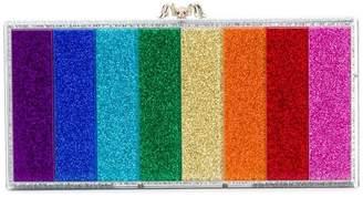 Charlotte Olympia Penelope rainbow clutch