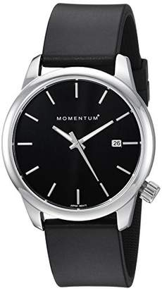 Momentum Women's 'Logic 36' Quartz Stainless Steel and Rubber Casual Watch