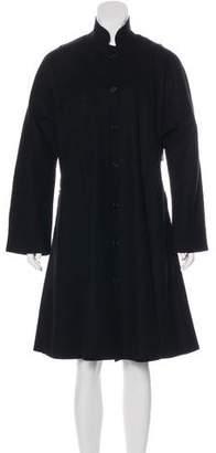 eskandar Long Wool & Cashmere Coat