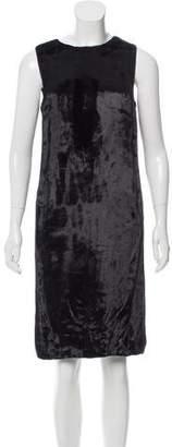 Veronique Branquinho Textured Knee-Length Dress w/ Tags