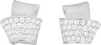 Carelle Knot Pave Diamond Stud Earrings