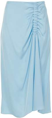 Tibi Shirred Skirt