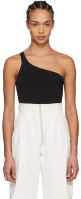 Isabel Marant Black Sage Single-Shoulder Bodysuit