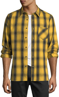 Men's Max Plaid Cotton Sport Shirt