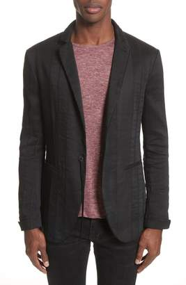 John Varvatos Collection Slim Fit Linen Blend Blazer