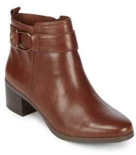 Anne Klein Jeannie Leather Booties