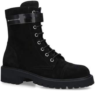 Giuseppe Zanotti Suede Combat Boots