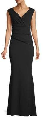 Quiz Bardot Wrap Maxi Dress